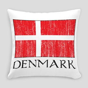 Denmark Flag Everyday Pillow