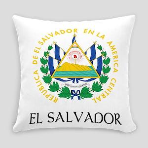 Coat of Arms of El Salvador Everyday Pillow