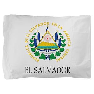 Coat of Arms of El Salvador Pillow Sham