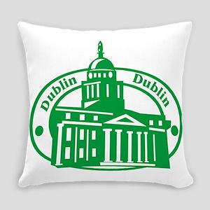 Dublin Passport Stamp Everyday Pillow