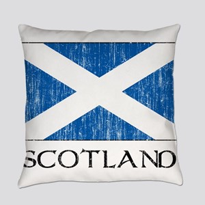 Scotland Flag Everyday Pillow