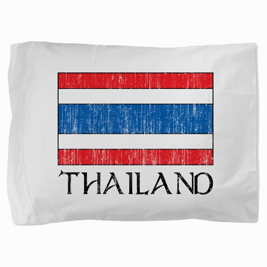 Thailand Flag Pillow Sham
