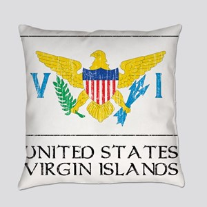 United States Virgin Islands Flag Everyday Pillow