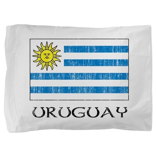 Uruguay Flag Pillow Sham