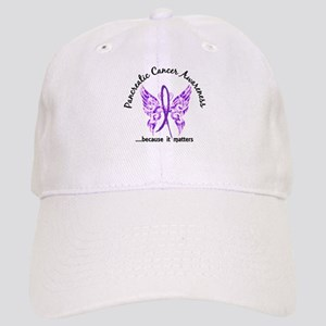 Pancreatic Cancer Butterfly 6.1 Cap