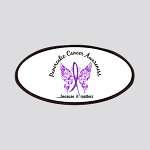 Pancreatic Cancer Butterfly 6.1 Patch