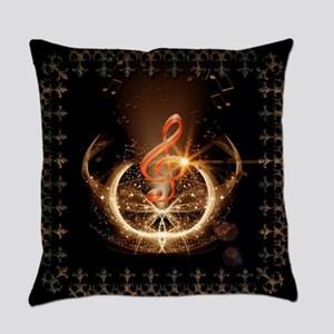 Music, clef with awesome light effect Everyday Pil