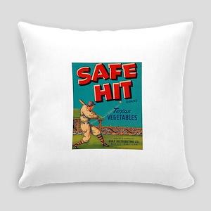Safe Hit Texas Vegetables Everyday Pillow