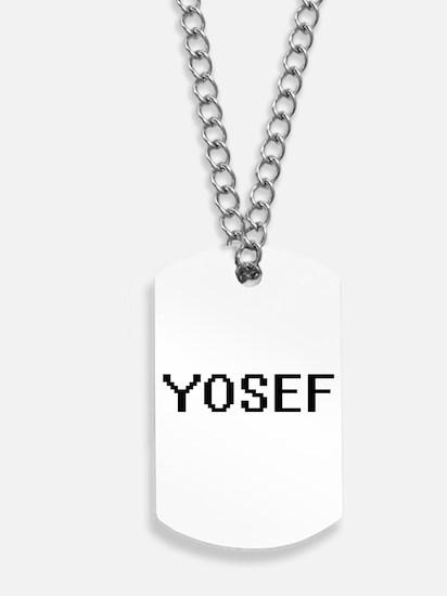 Yosef Digital Name Design Dog Tags