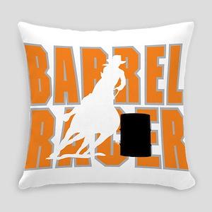 Barrel Racer Everyday Pillow