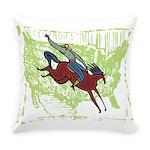 American Cowboy Everyday Pillow