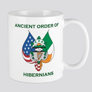 Ancient Order Of Hibernians Emblem Mugs