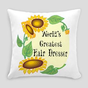 Worlds Greatest Hair Dresser Everyday Pillow