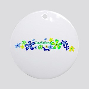 Dachshund Ornament (Round)