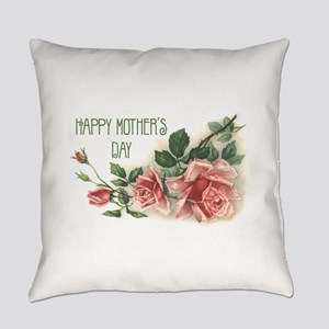 Mothers Day Roses Everyday Pillow