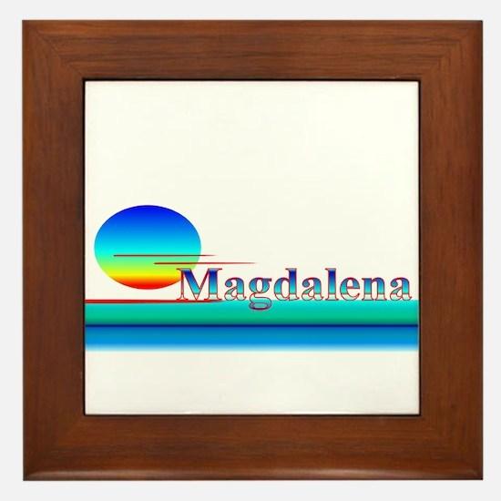 Magdalena Framed Tile
