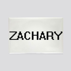Zachary Digital Name Design Magnets