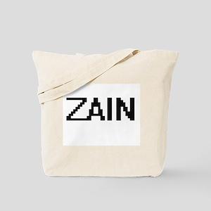 Zain Digital Name Design Tote Bag