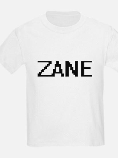 Zane Digital Name Design T-Shirt