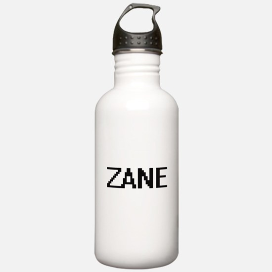 Zane Digital Name Desi Sports Water Bottle