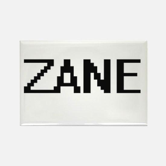 Zane Digital Name Design Magnets