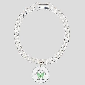 Organ Donation Butterfly Charm Bracelet, One Charm