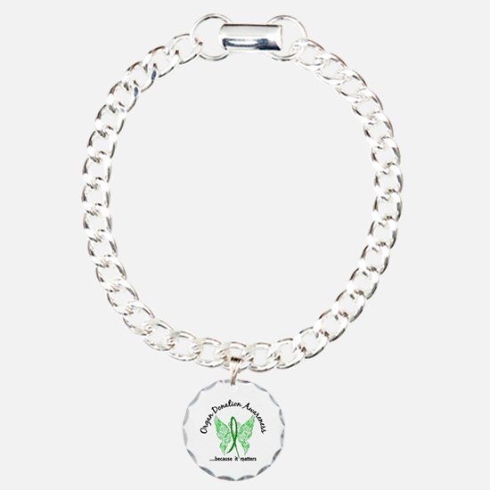 Organ Donation Butterfly Bracelet