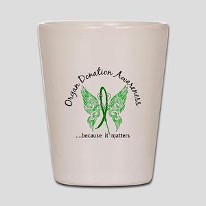 Organ Donation Butterfly 6.1 Shot Glass