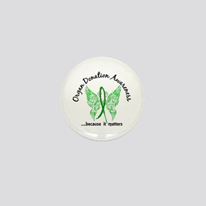 Organ Donation Butterfly 6.1 Mini Button