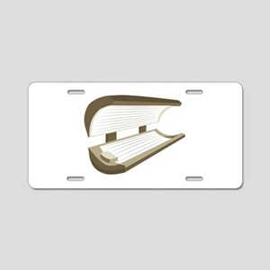 Tanning Bed Aluminum License Plate