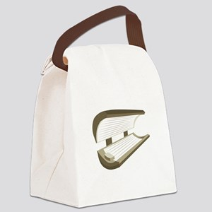 Tanning Bed Canvas Lunch Bag