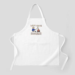 Lets Make SMORES! BBQ Apron
