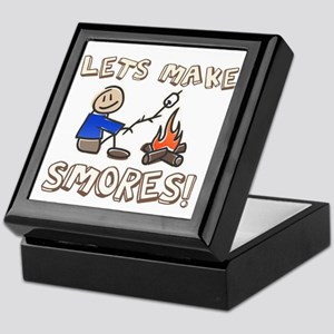 Lets Make SMORES! Keepsake Box