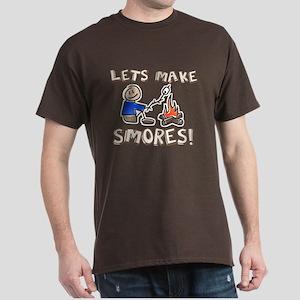 Lets Make SMORES! Dark T-Shirt