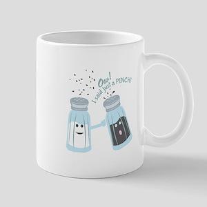 Just A Pinch Mugs