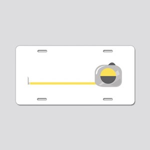 Tape Measure Aluminum License Plate