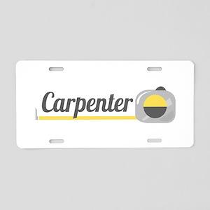 Carpenter Aluminum License Plate