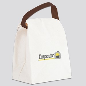 Carpenter Canvas Lunch Bag