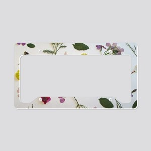 PRESSED FOR THYME License Plate Holder