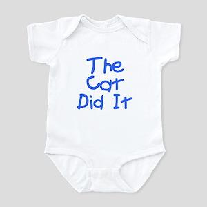 Twisted Imp The Cat Did It Infant Bodysuit