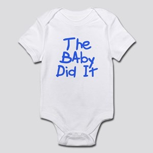 Twisted Imp The Baby Did It Infant Bodysuit