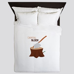 Chopping Block Queen Duvet