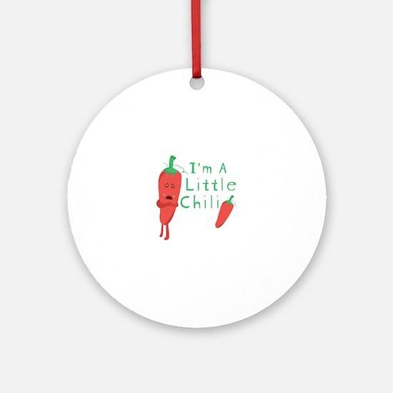 Little Chili Ornament (Round)