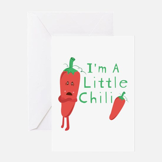 Little Chili Greeting Cards