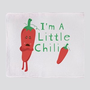 Little Chili Throw Blanket