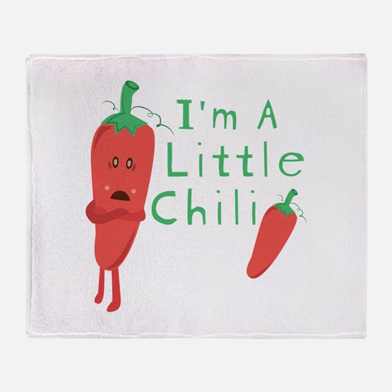 Little Chili Throw Blanket