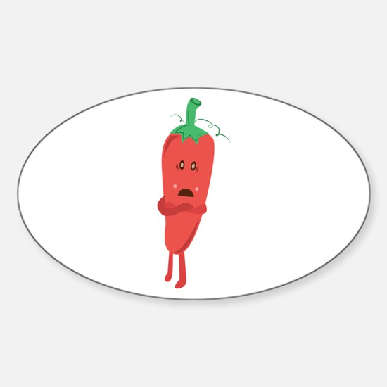 Silly Pepper Decal