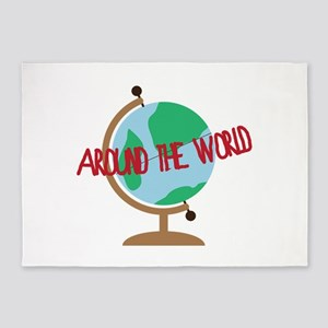 Around the World 5'x7'Area Rug