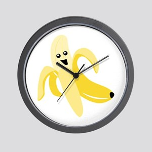 Silly Banana Wall Clock