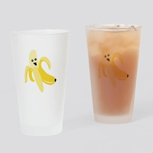 Silly Banana Drinking Glass